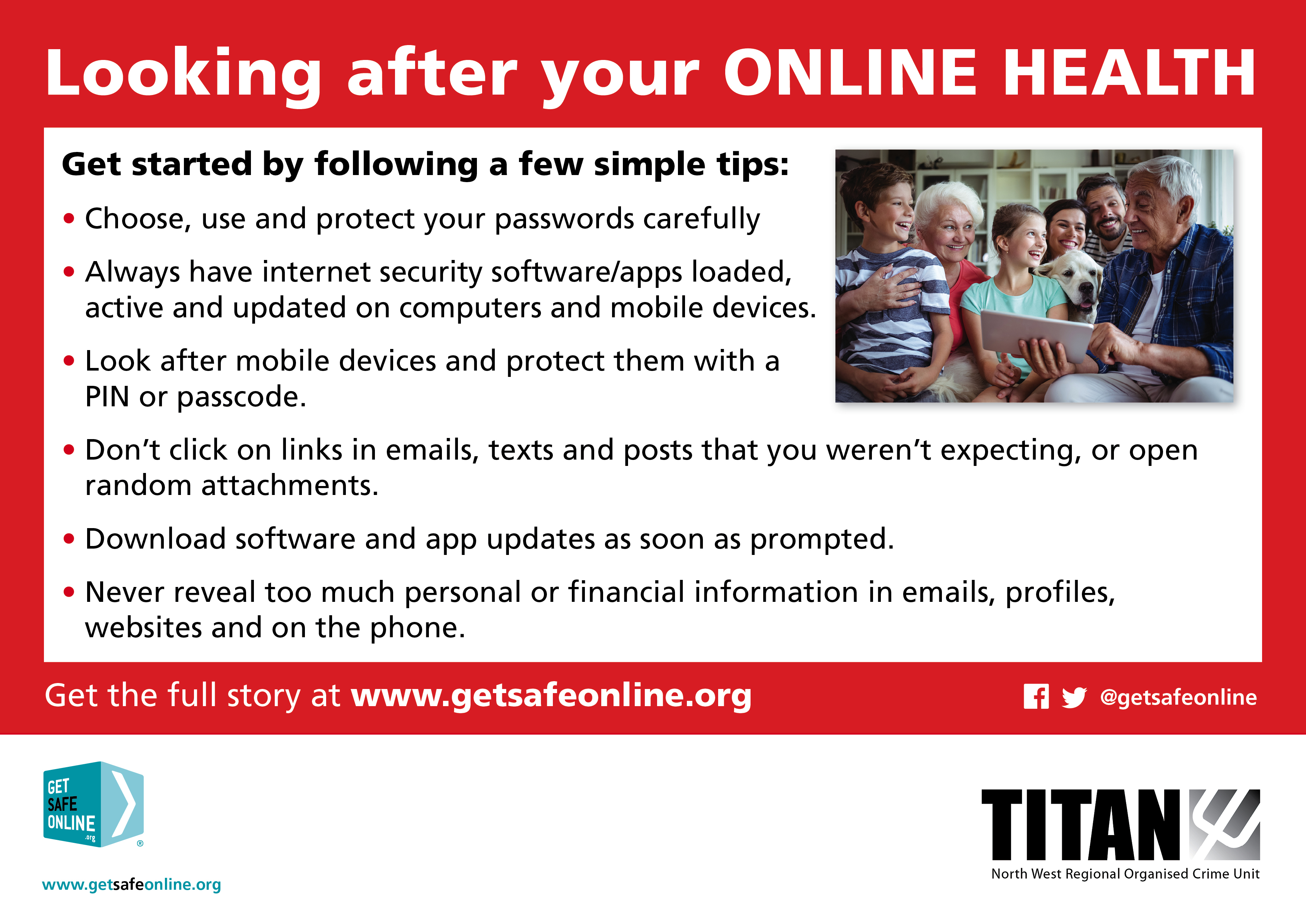 Looking After Your Online Health
